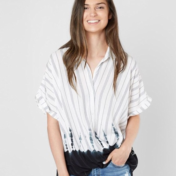 0a2dcfb21a44d6 Buckle Tops | The The Room Striped Surplice Blouse | Poshmark